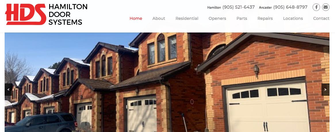 top hamilton garage door repair services
