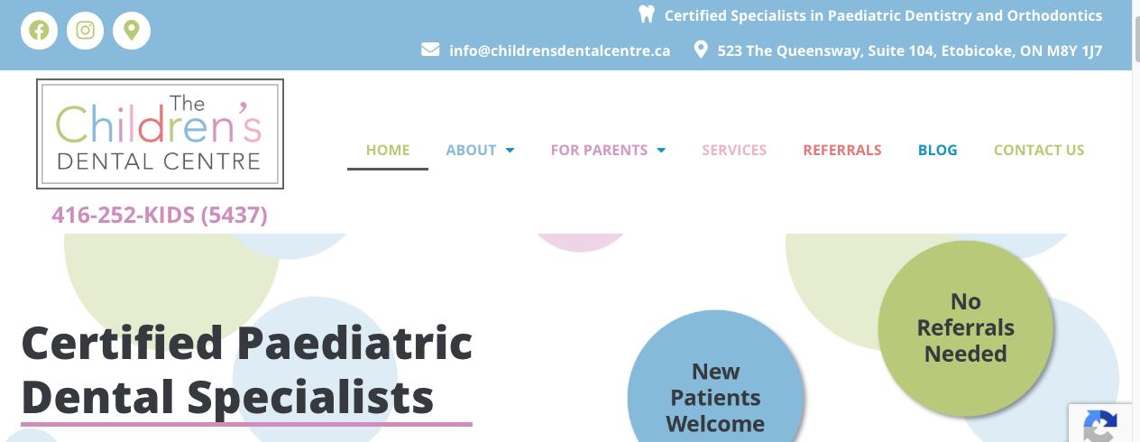 top paediatric dentists in toronto