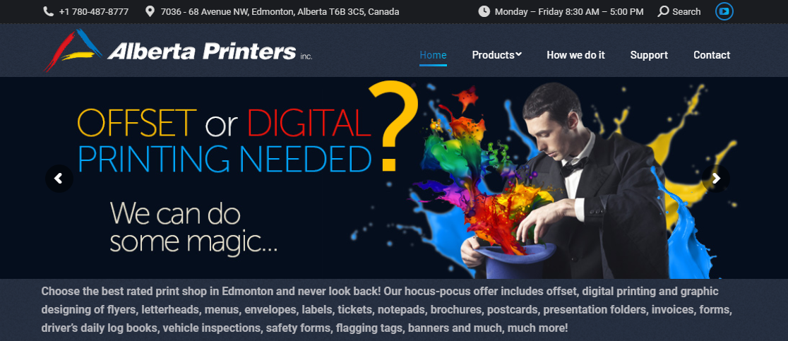 Alberta Printers Inc.