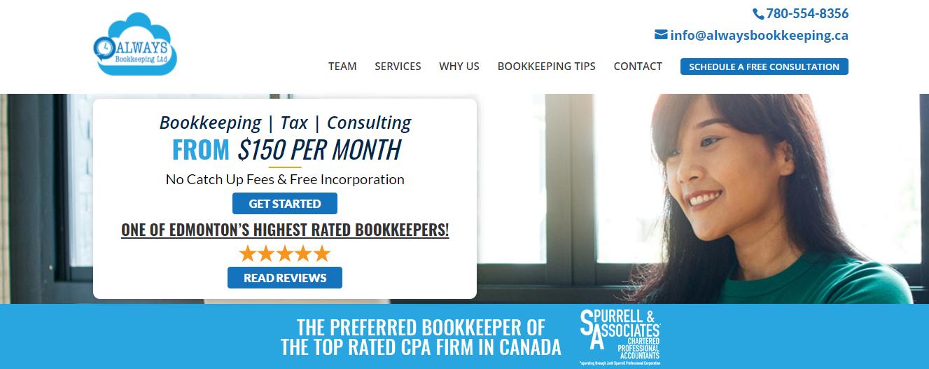Always Bookkeeping Ltd.