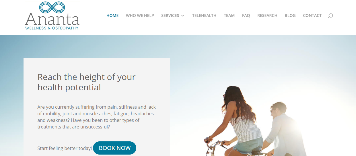 Ananta Wellness & Osteopathy