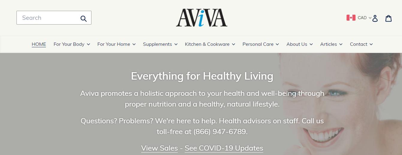 Aviva Natural Health Solutions