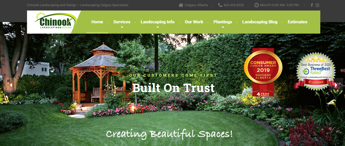 Chinook Landscaping and Design Inc.