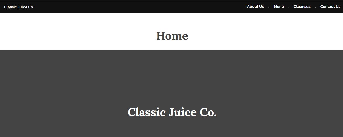 Classic Juice Co.