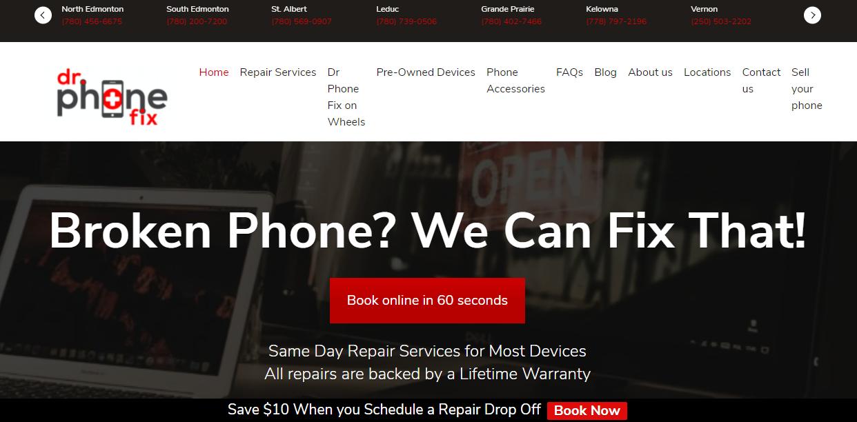 Dr. Phone Fix Professional Cell Phone Repair