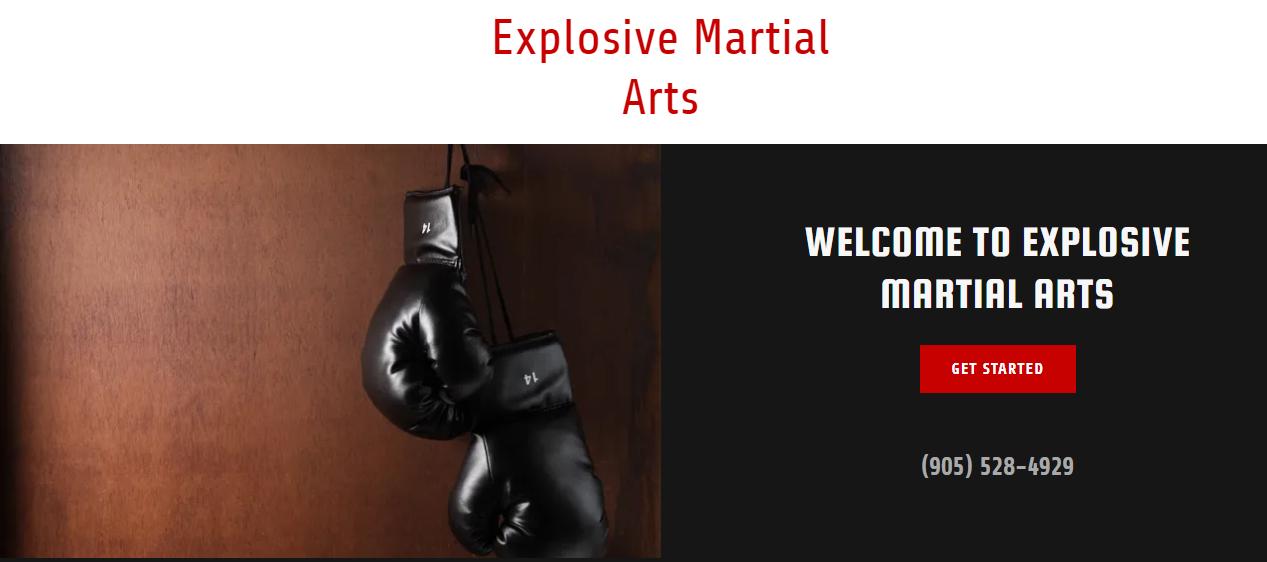 Explosive Martial Arts