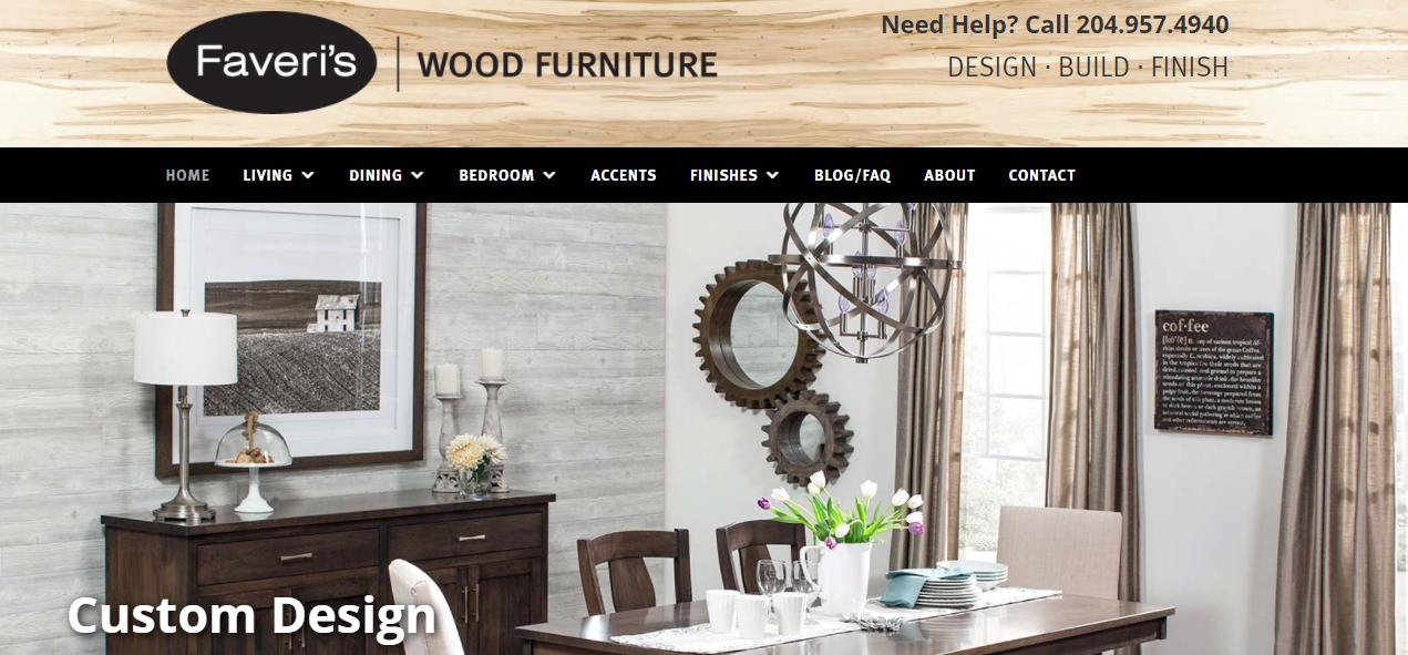 Faveri's Wood Furniture