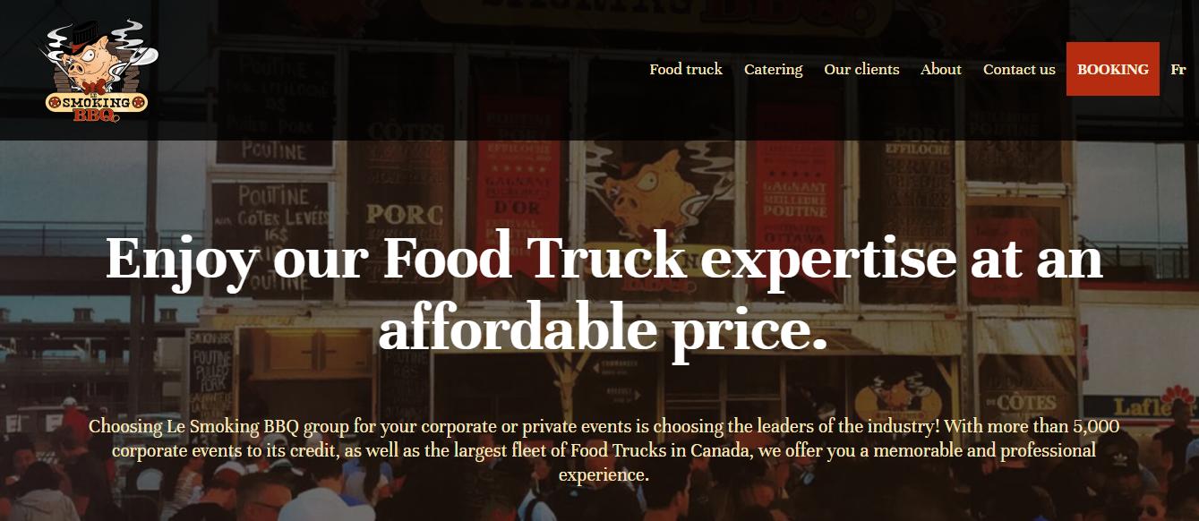 Food trucks Le Smoking BBQ