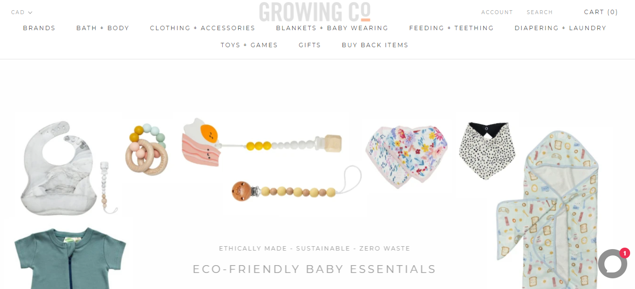Growing Co. Kid's Eco Boutique