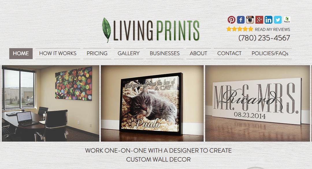 Living Prints