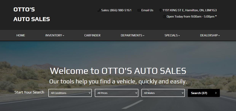 OTTO'S AUTO SALES