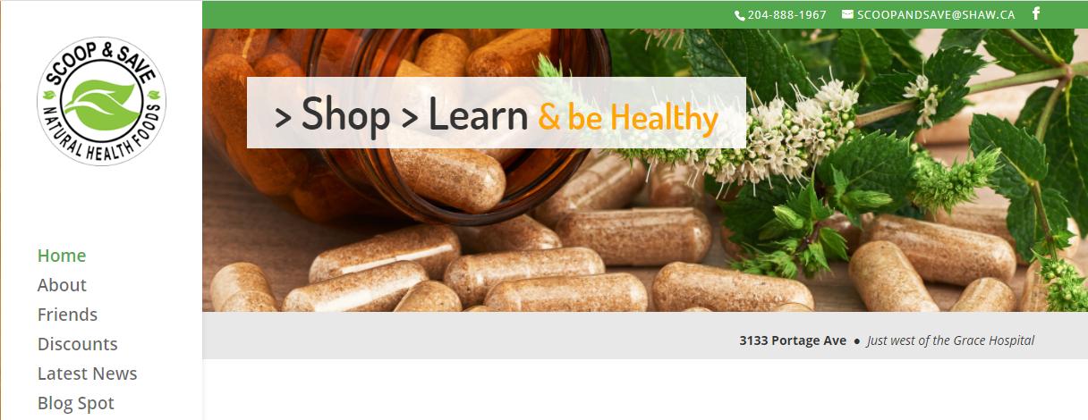 Scoop & Save Natural Health Foods