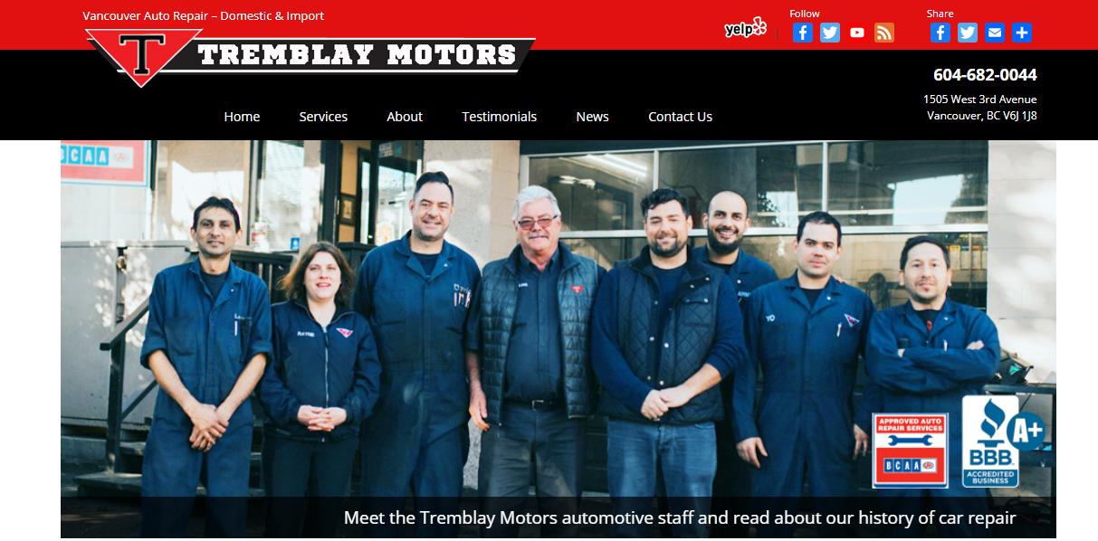 Tremblay Motors Ltd.