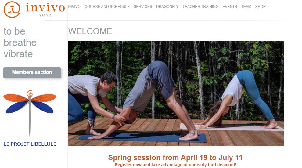 Yoga Invivo Inc