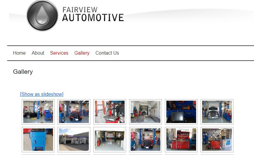 fairview automotive