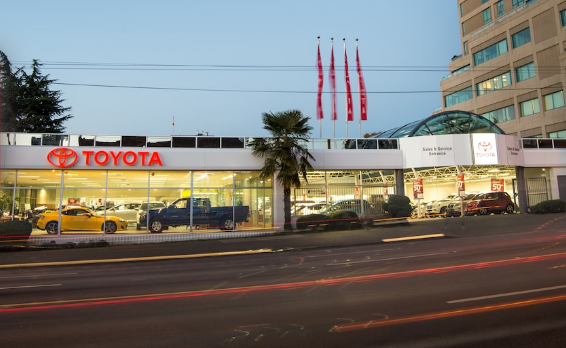 toyota dealers vancouver