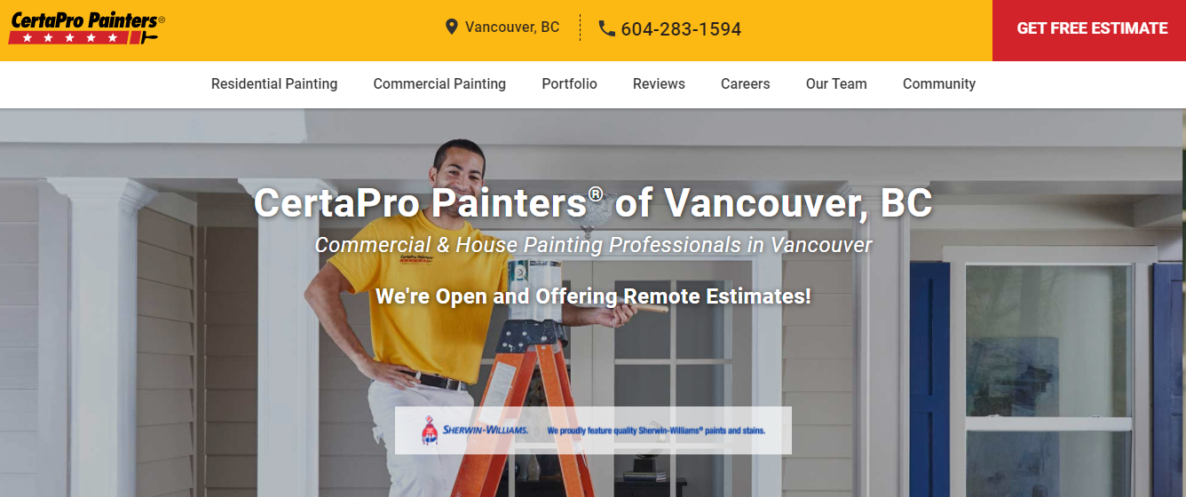 CertaPro Painters of Vancouver