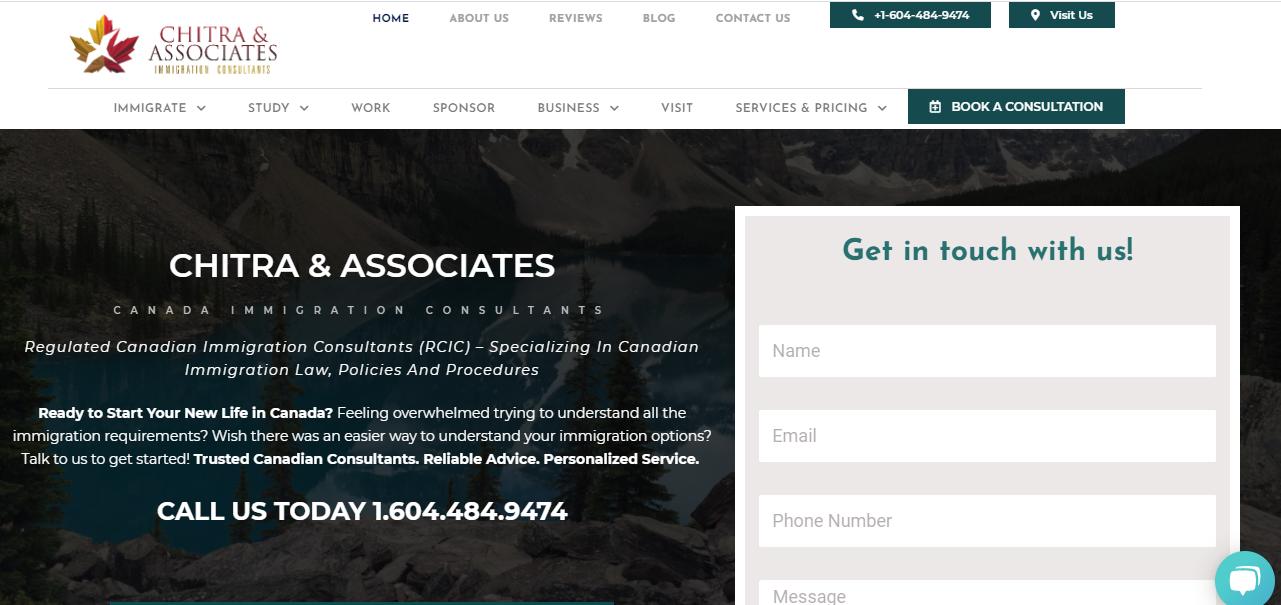 Chitra & Associates Immigration Consultants Inc.