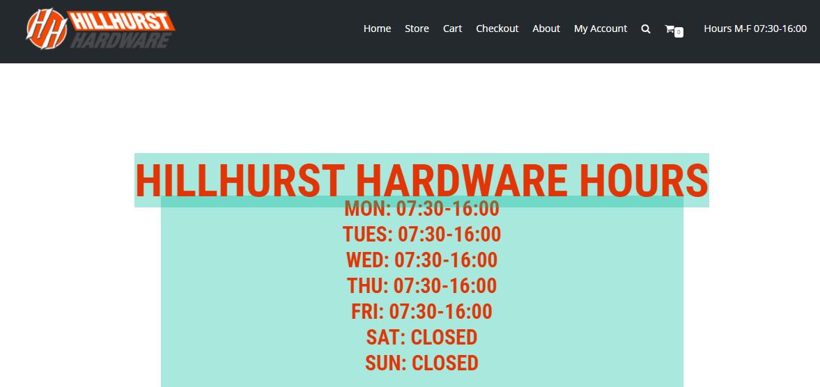 Hillhurst Hardware Ltd