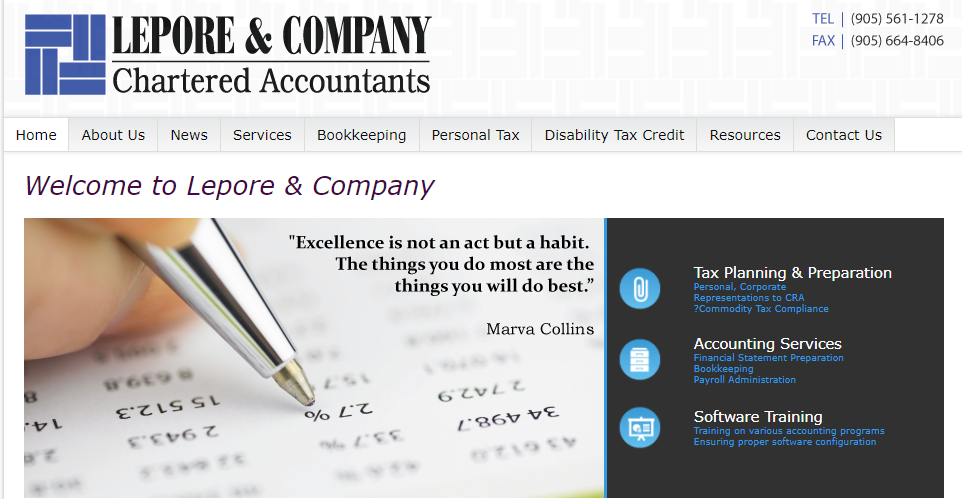 Lepore & Co Chartered Professional Accountants