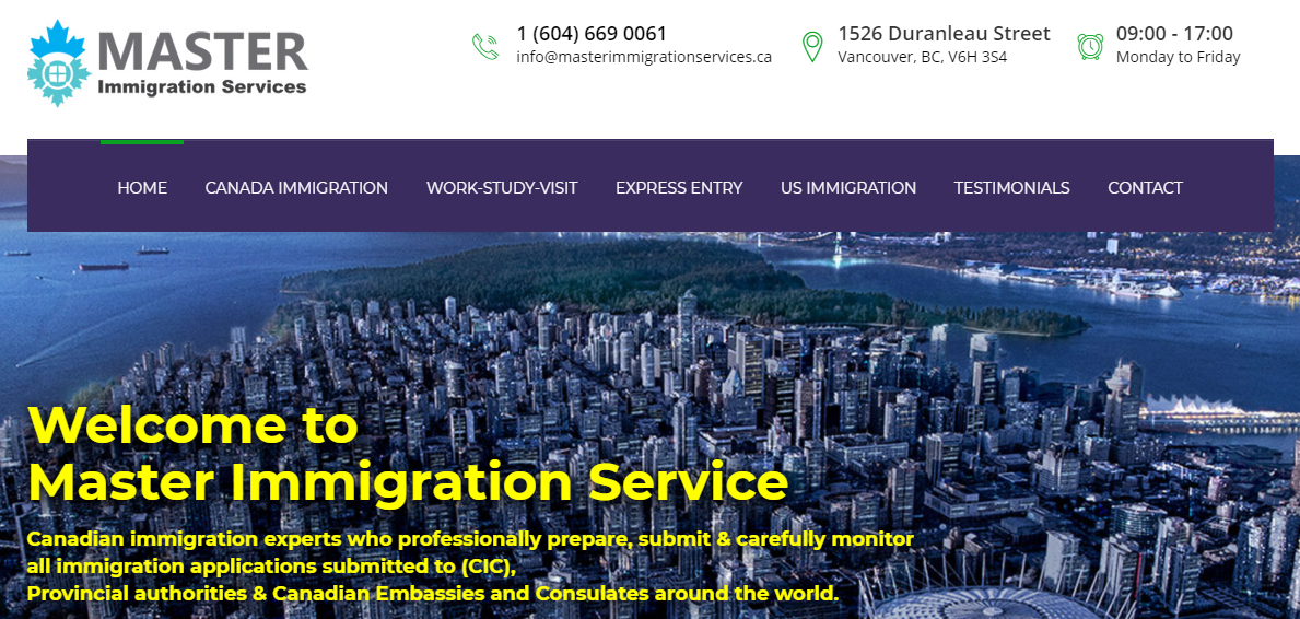 Master Immigration Services