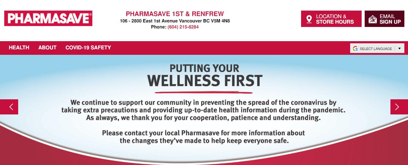 Pharmasave 1st & Renfrew