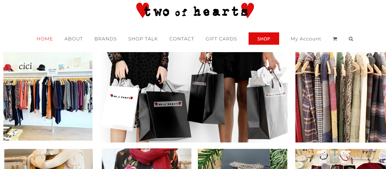 Two of Hearts Clothing