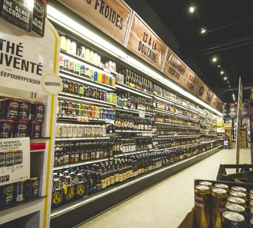 quebec bottle shops