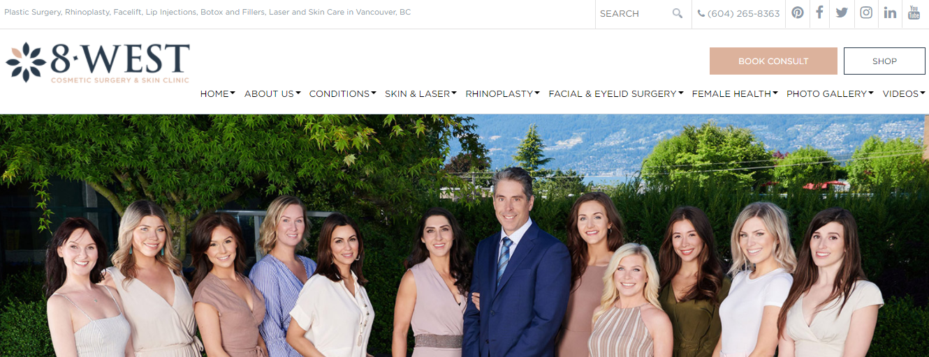 8 West Cosmetic Surgery & Skin Clinic