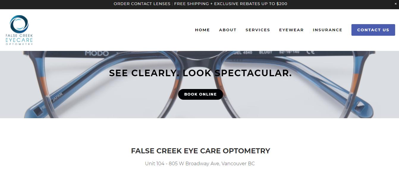 False Creek Eye Care Optometry