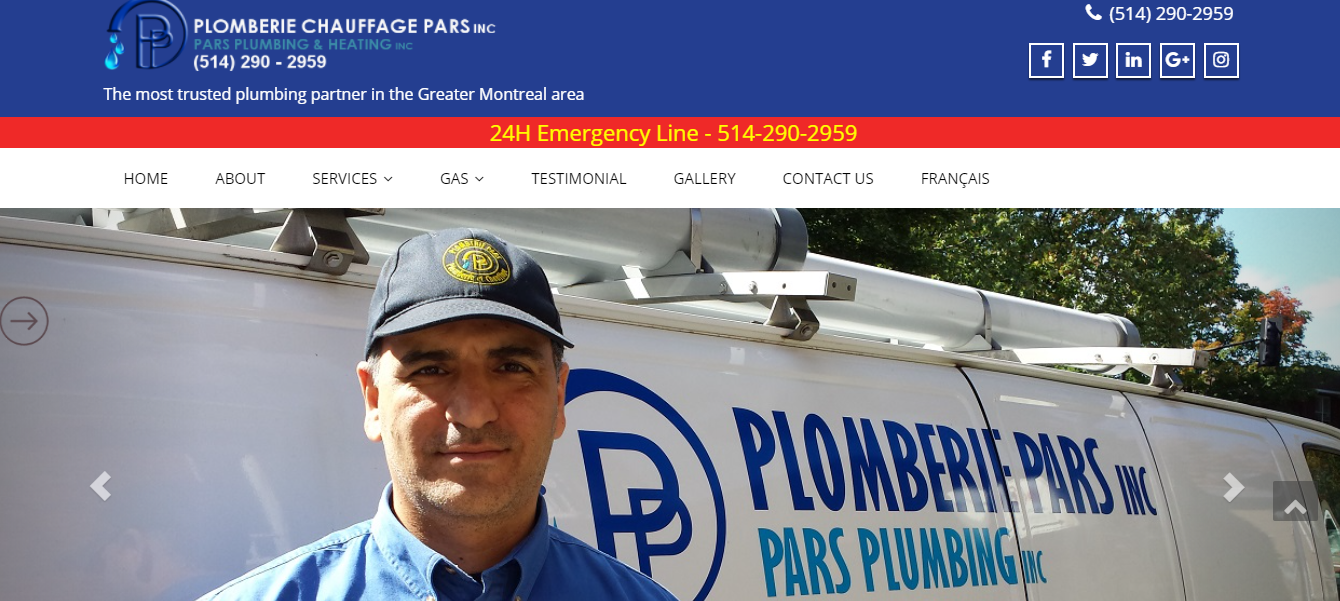 Pars Plumbing and Heating Inc.