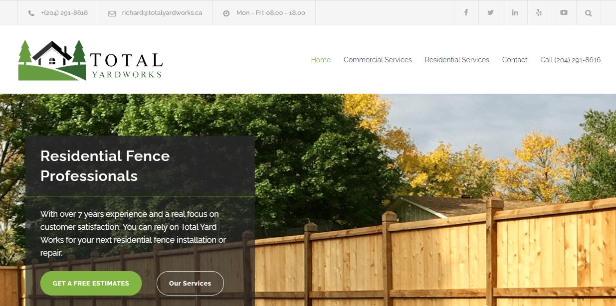 Total Yard Works Landscaping & Fences