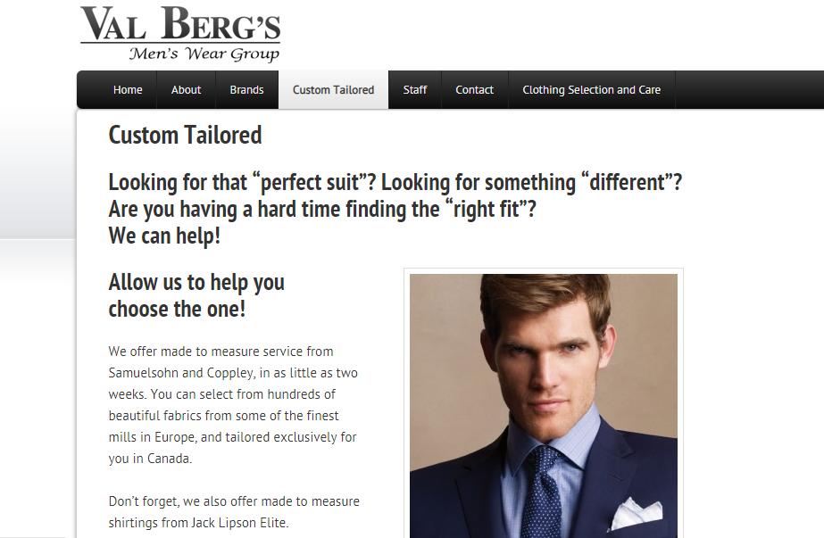 Val Berg's Men's Wear
