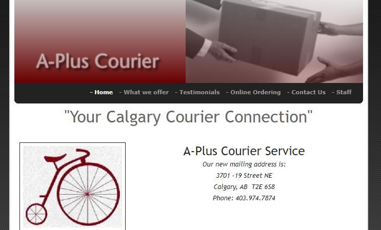 A-Plus Courier Service Ltd.