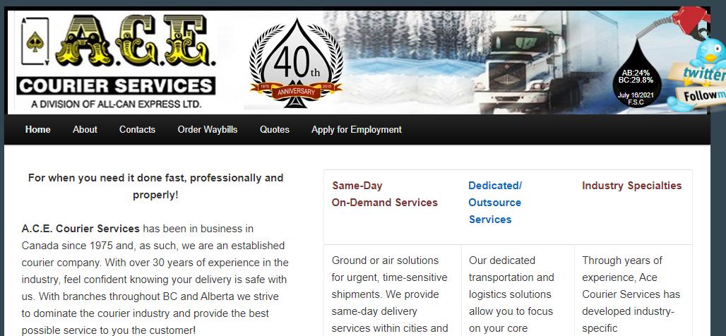 A.C.E. Courier Services
