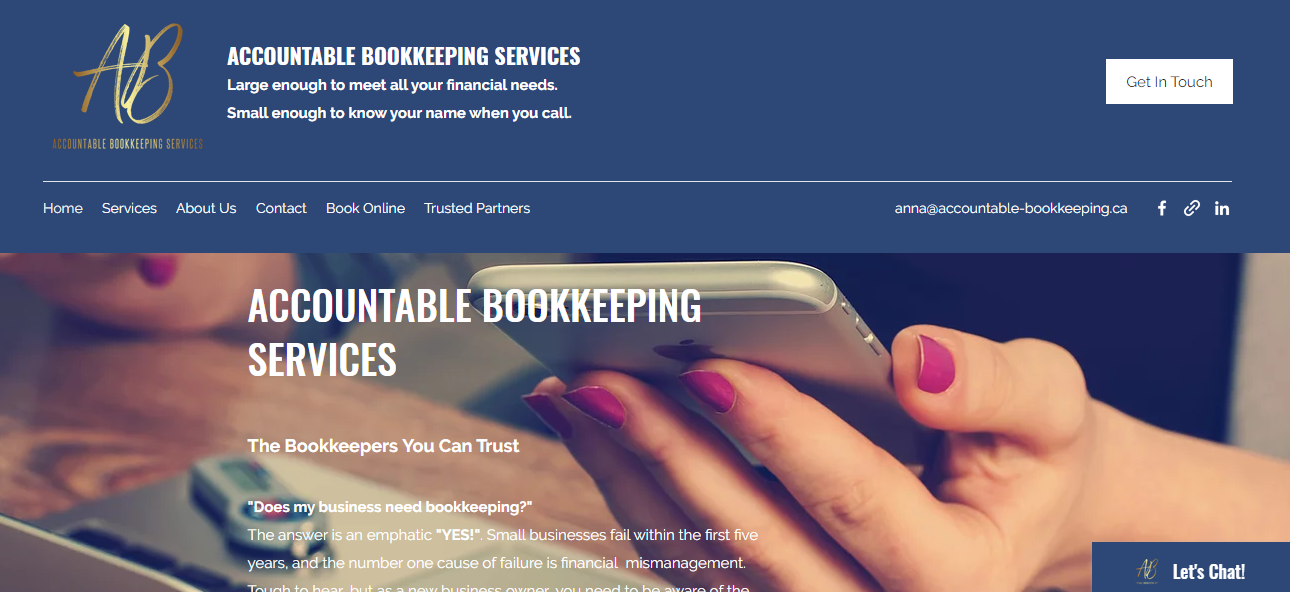 Accountable Bookkeeping services