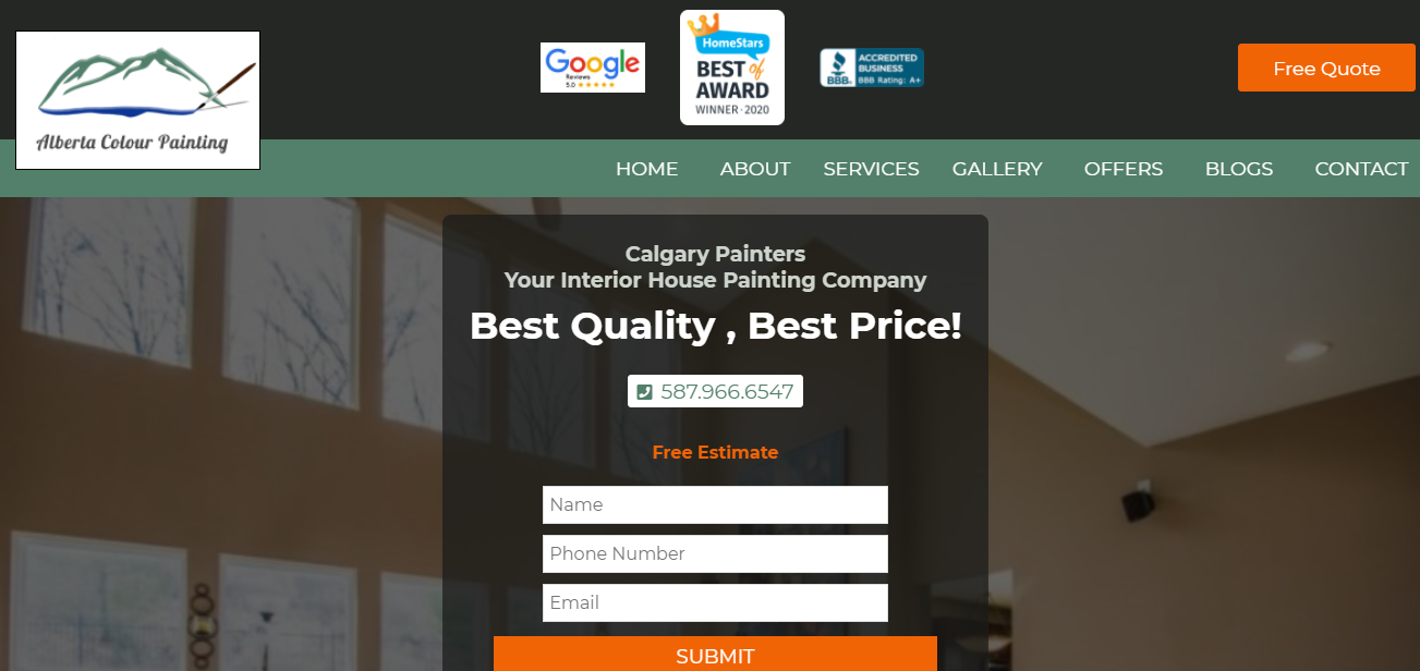 Alberta Colour Painting Ltd.
