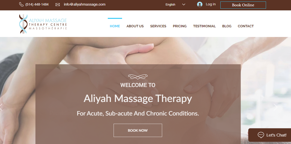 Aliyah Massage Therapy Centre