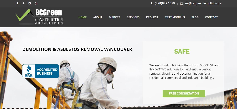 BC Green Asbestos Removal & Demolition