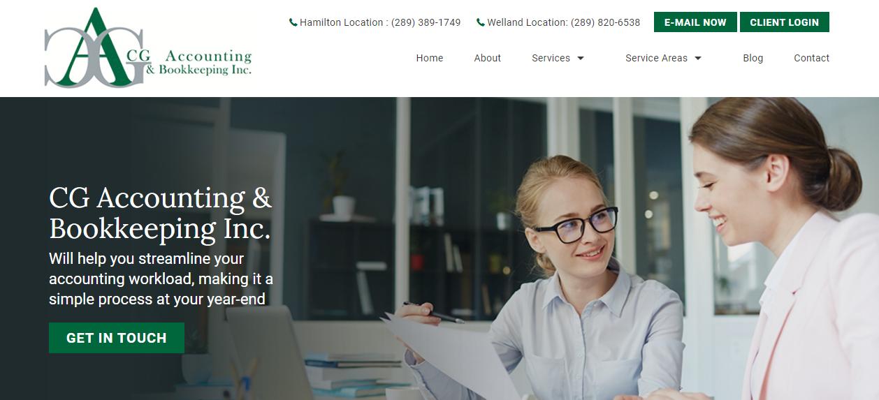 CG Accounting & Bookkeeping Inc