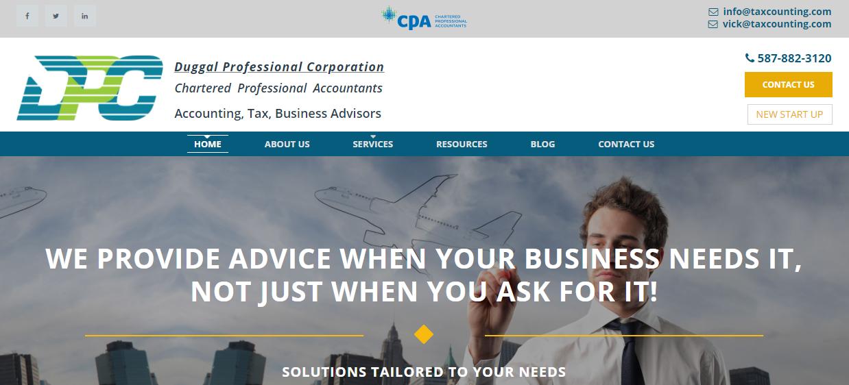 Duggal Professional Corporation