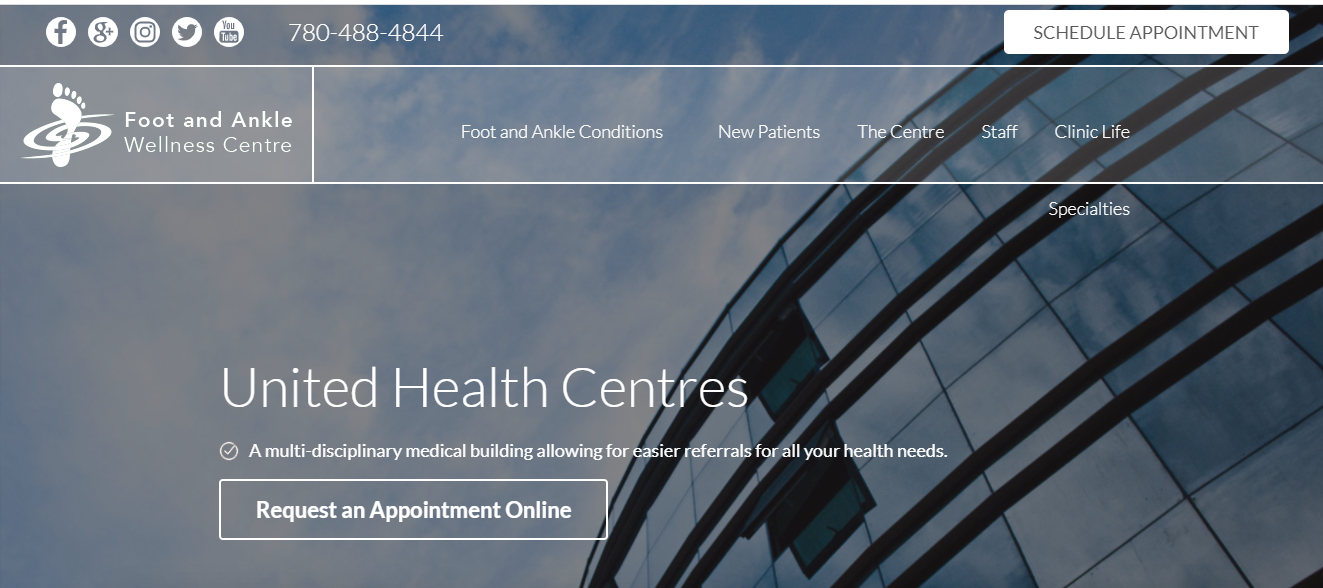 Foot And Ankle Wellness Centre