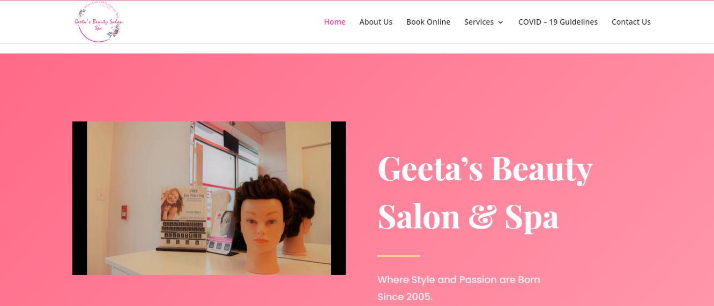 Geeta's Beauty Salon & Spa