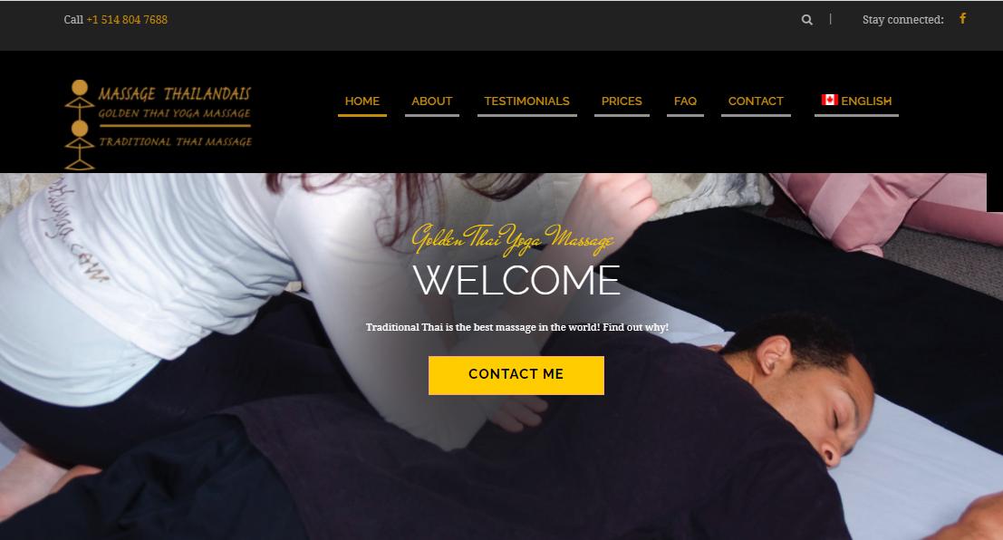 GoldenThaiYoga Massage thaïlandais