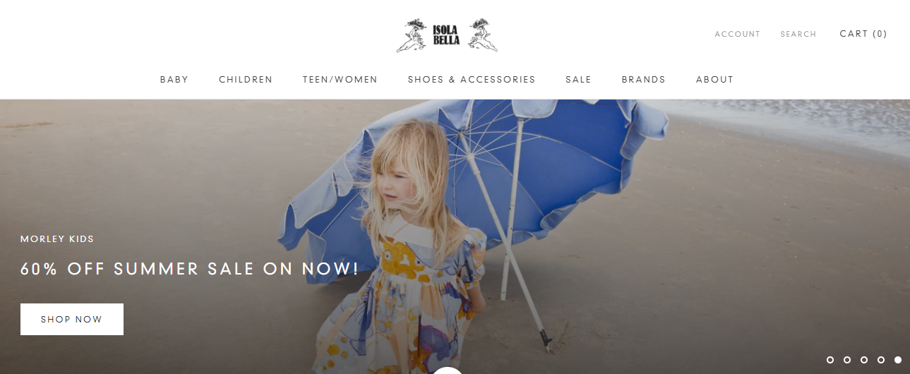 Isola Bella Children's Clothing and Shoe Boutique