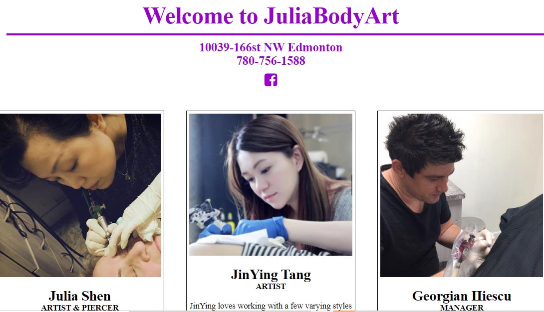 Julia Body Art