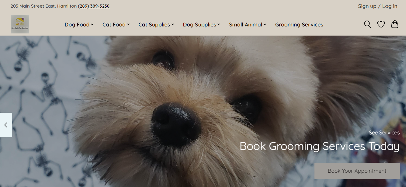 Live Right Pet Supplies & Grooming