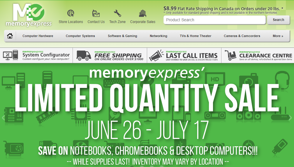 Memory Express Computers