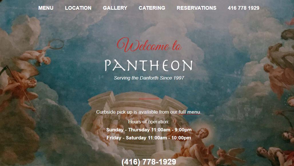 Pantheon Restaurant