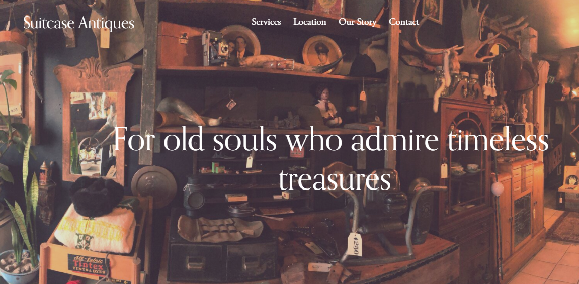 Suitcase Antiques